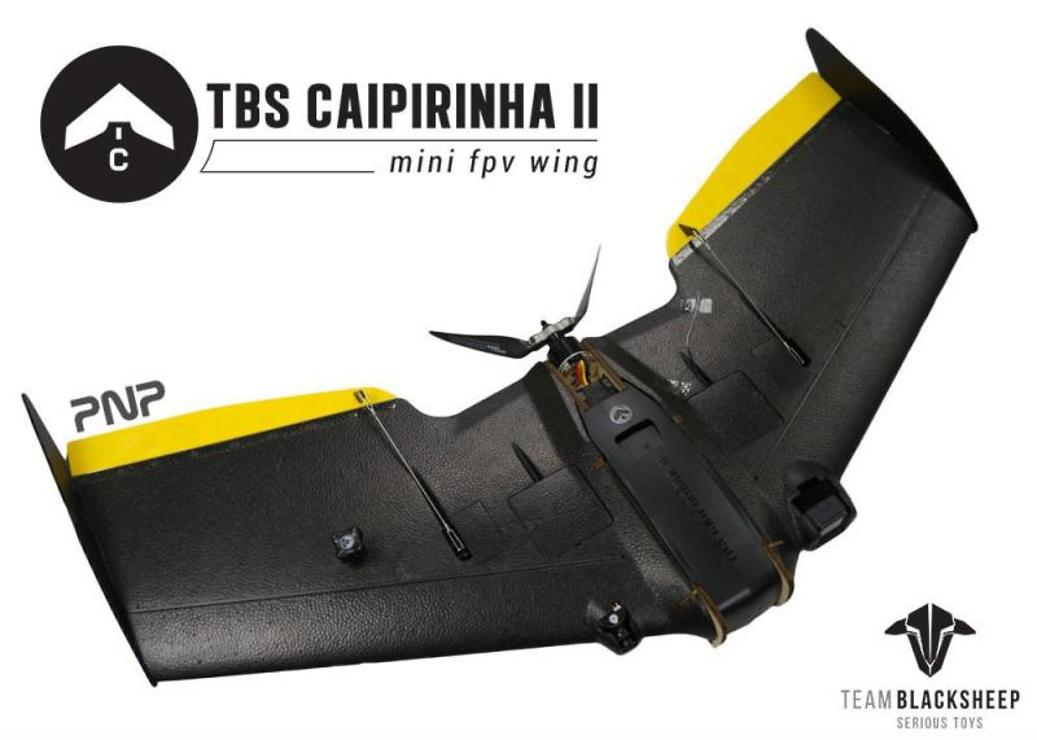 TBS Caipirinha 2 FPV Wing - PNP - Pic 1