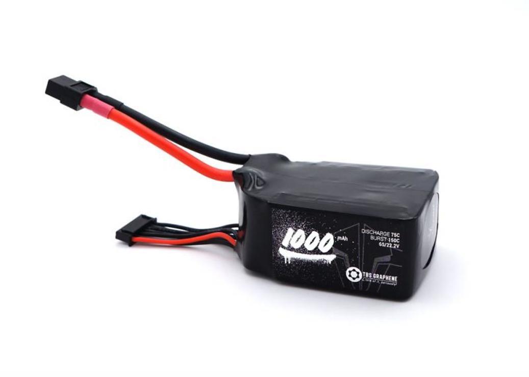 TBS Batterie Lipo Akku Graphene 1000mAh 6S 75C - Pic 1