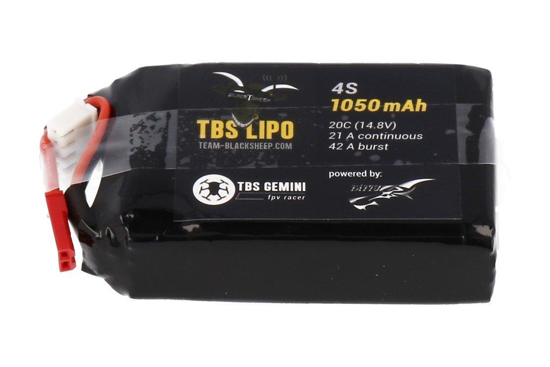 TBS Lipo Akku 1000 mAh 4S  (Gemini) - Pic 1
