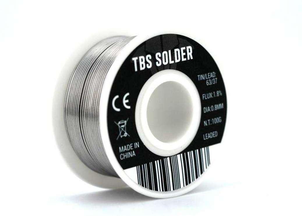TBS Solder 100G Lötzinn - Pic 1