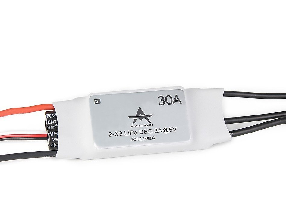 T-Motor AT30A Fixed Wing ESC 30A - Pic 1