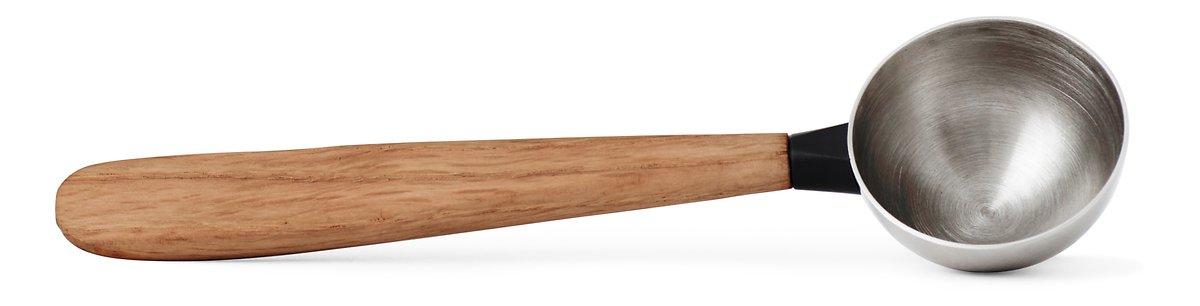 Viva Scandinavia Teelöffel Pure 15,5 cm Edelstahl Holz natur - Pic 1